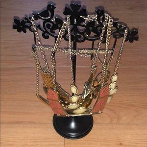 Jewelry - jewelry stand + accessory necklaces